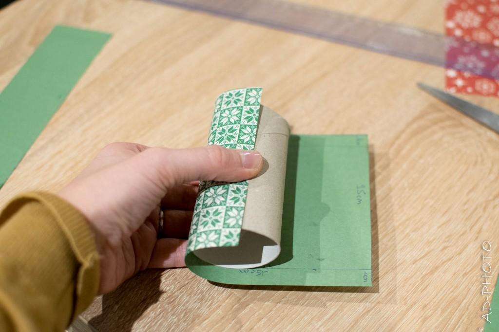 DIY : Décorer soi-même son calendrier de l'avent en rouleaux de papier toilette