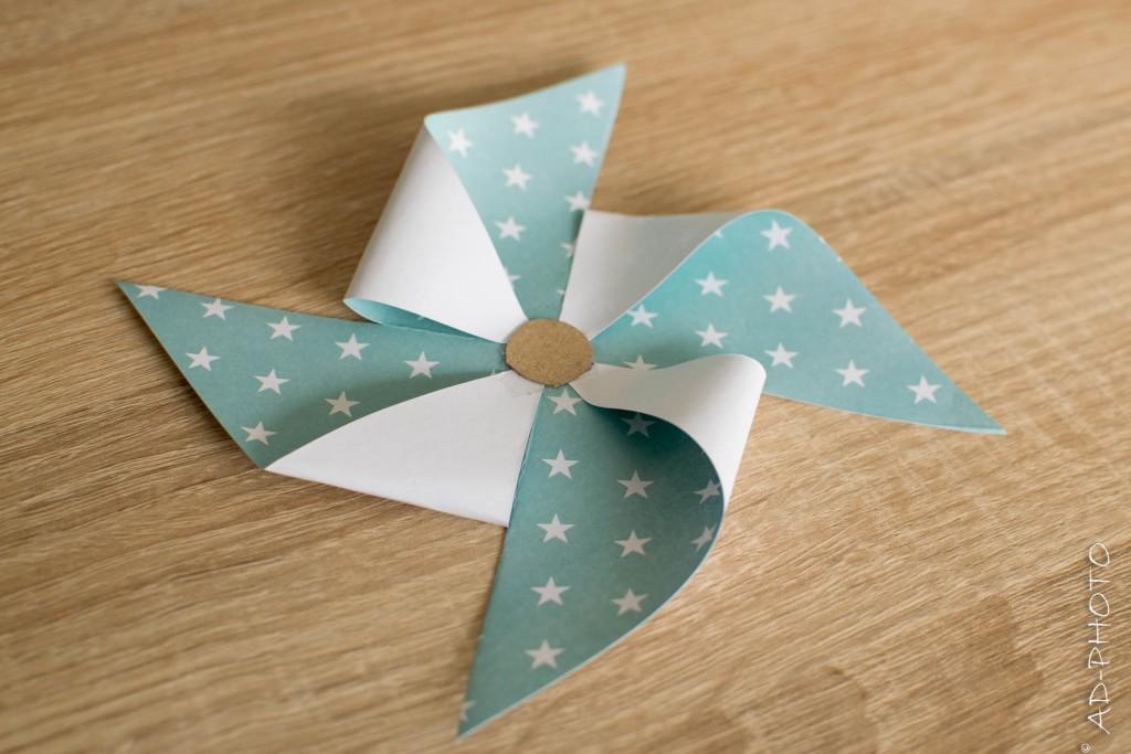 DIY : Réaliser un moulin à vent en papier