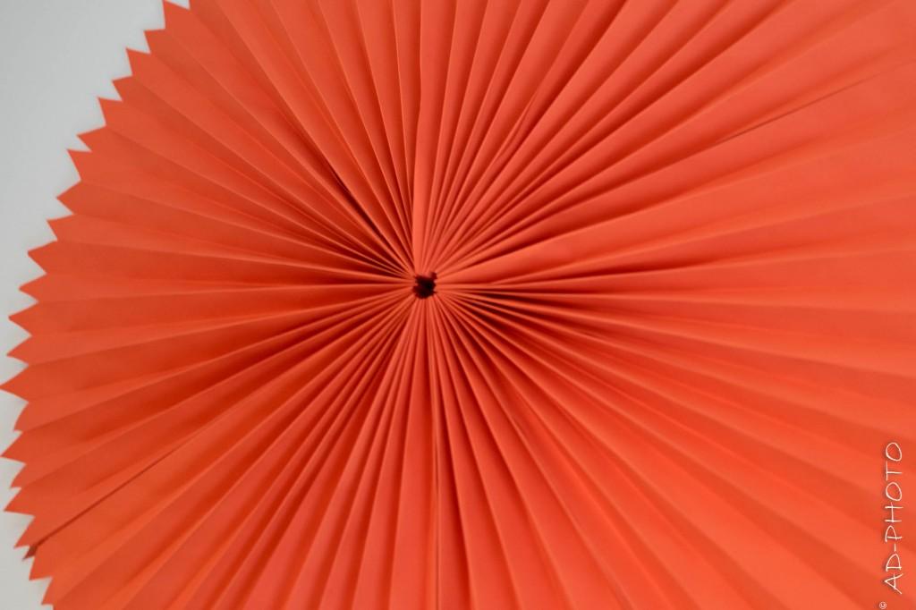 DIY : Grande rosace en papier
