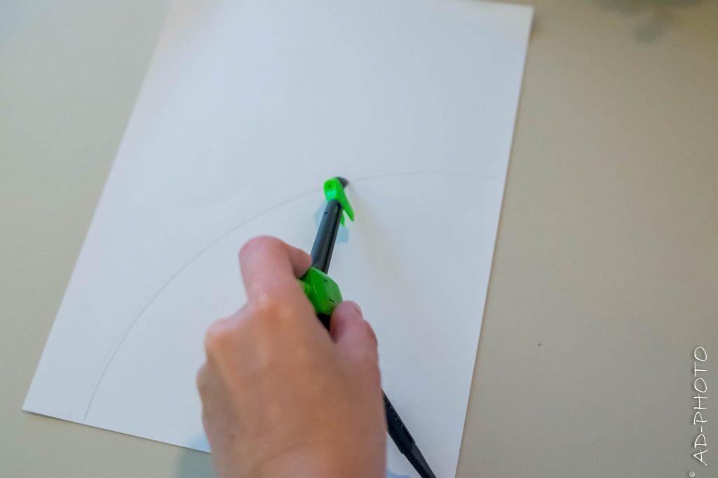 DIY : Matériel pour réaliser un Calendrier de l'avent - Forêt de sapins - Noël - AD-Déco