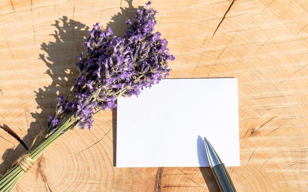 DIY : Carte de remerciement mariage